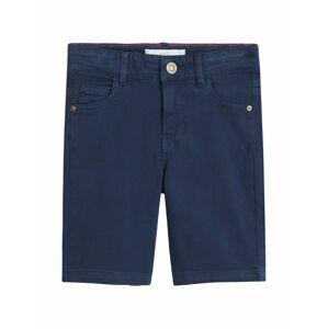 MANGO KIDS Kalhoty  tmavě modrá