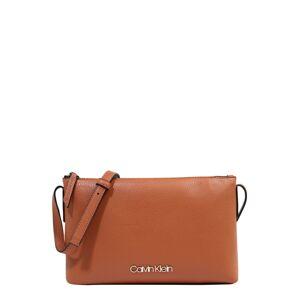 Calvin Klein Taška přes rameno 'Neat SP20'  karamelová