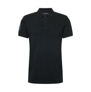 BLEND Tričko  černá