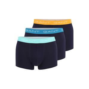 GANT Boxerky  modrá / oranžová / bílá