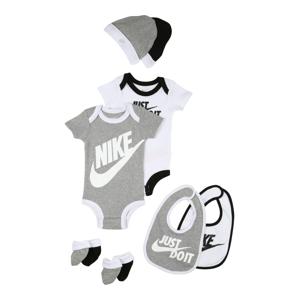 Nike Sportswear Sada  bílá / šedý melír / černá