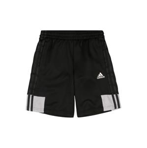 ADIDAS PERFORMANCE Sportovní kalhoty 'B A.R.'  bílá / černá / světle šedá