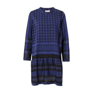 Cecilie Copenhagen Šaty 'Dress 2 O Long Sleeves'  modrá / černá