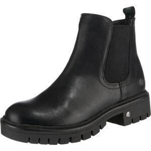 Dockers by Gerli Chelsea boty  černá