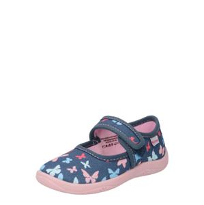 RICHTER Pantofle  tmavě modrá / růžová / mátová / grenadina / nebeská modř