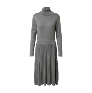 Calvin Klein Úpletové šaty  šedá