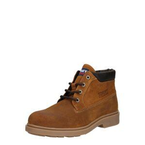 Tommy Jeans Šněrovací boty  karamelová / tmavě hnědá