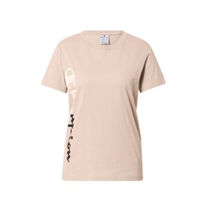 Champion Authentic Athletic Apparel Tričko  růžová / námořnická modř / bílá