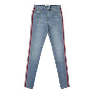 LEVI'S Džíny '720 High Rise Super Skinny'  červená / modrá džínovina