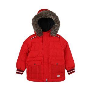 s.Oliver Zimní bunda  červená / námořnická modř / bílá