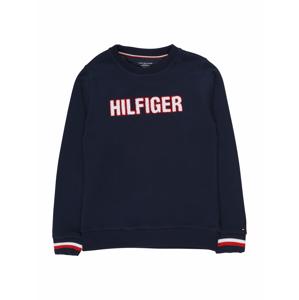 Tommy Hilfiger Underwear Mikina  tmavě modrá / červená / bílá