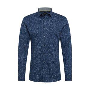 OLYMP Košile 'No. 6 Print'  marine modrá