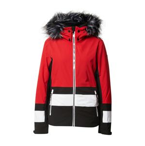 LUHTA Outdoorová bunda 'Luhta'  červená / černá / bílá