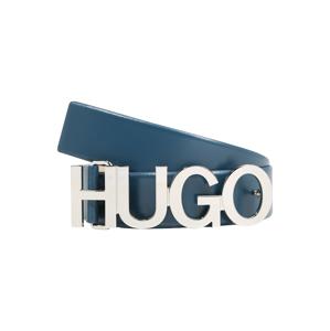 HUGO Opasek 'Zula'  tmavě modrá / stříbrná