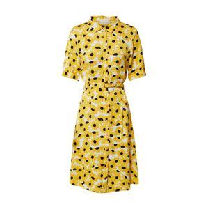 Fabienne Chapot Košilové šaty 'Mila'  žlutá