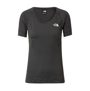 THE NORTH FACE Funkční tričko 'Lightning'  tmavě šedá / grafitová / bílá