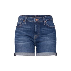 7 for all mankind Džíny 'BOY SHORTS'  modrá džínovina