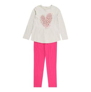 UNITED COLORS OF BENETTON Pyžamo  béžová / pink / zlatá