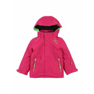TROLLKIDS Outdoorová bunda ' Holmenkollen '  pink / svítivě zelená