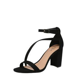 CALL IT SPRING Páskové sandály 'AZARIA'  černá