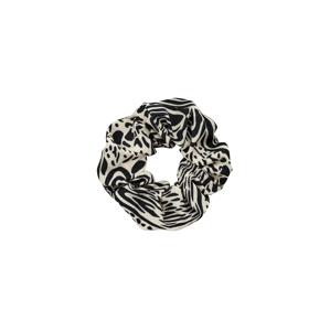 EDITED Šperky do vlasů 'Elina'  černá / bílá