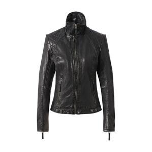 Gipsy Přechodná bunda 'Citty'  černý melír