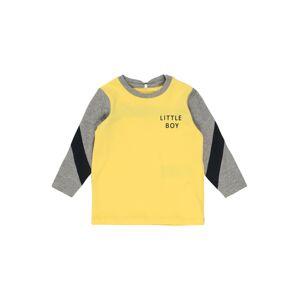 NAME IT Tričko  šedá / žlutá