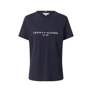 TOMMY HILFIGER Tričko  námořnická modř / bílá