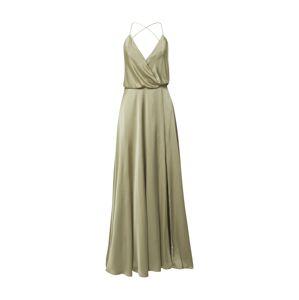 Unique Společenské šaty  pastelově zelená