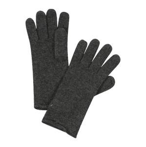 ESPRIT Prstové rukavice  tmavě šedá