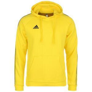 ADIDAS PERFORMANCE Sportovní mikina 'CORE 18'  černá / žlutá