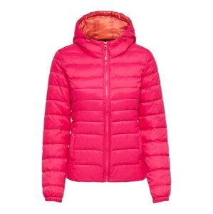 ONLY Zimní bunda  tmavě růžová
