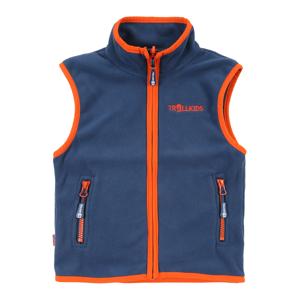 TROLLKIDS Sportovní vesta 'Arendal'  oranžová / tmavě modrá