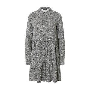 Tally Weijl Košilové šaty  bílá / černá