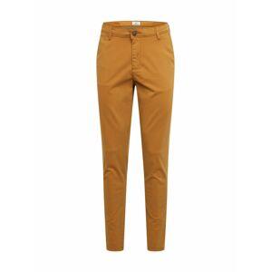 JACK & JONES Chino kalhoty 'MARCO'  hnědá