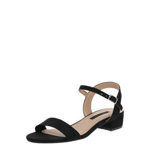 Dorothy Perkins Páskové sandály 'SPRIGHTLY'  černá