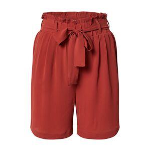 PIECES Kalhoty 'Avery'  vínově červená