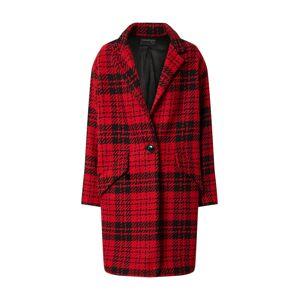 Ottod'Ame Přechodný kabát 'Giacca'  černá / červená