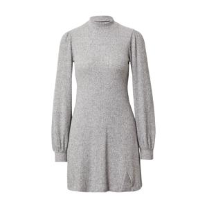 HOLLISTER Úpletové šaty  šedý melír