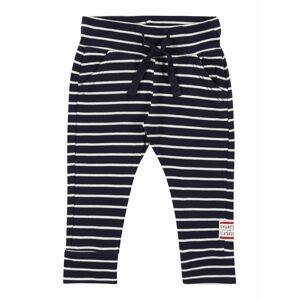 Noppies Kalhoty  bílá / tmavě modrá