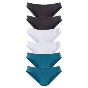 VIVANCE Kalhotky  modrá / černá / bílá