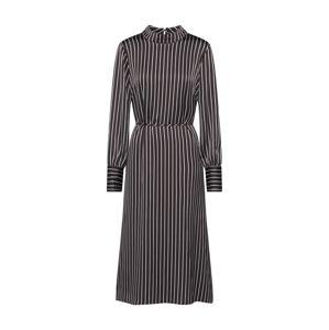JUST FEMALE Šaty 'Rosie'  černá / bílá