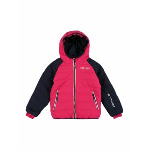 TROLLKIDS Outdoorová bunda 'Hafjell Snow'  pink / námořnická modř