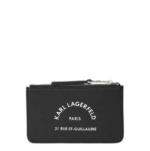 Karl Lagerfeld Peněženka 'Rue St Guillaume'  černá
