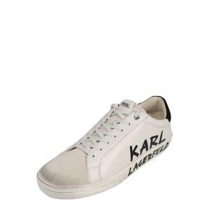 Karl Lagerfeld Tenisky 'SKOOL'  bílá / černá