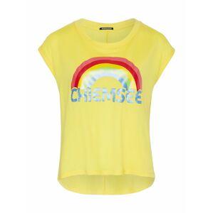 CHIEMSEE Funkční tričko  žlutá / červená
