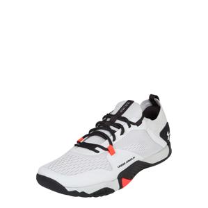 UNDER ARMOUR Sportovní boty 'TriBase Reign 2'  černá / světle šedá / oranžově červená