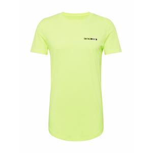TOM TAILOR DENIM Tričko  svítivě zelená