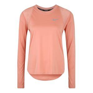 NIKE Funkční tričko 'W NK DRY MILER LS GX'  růžová