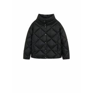 MANGO Zimní bunda 'Blandico'  černá